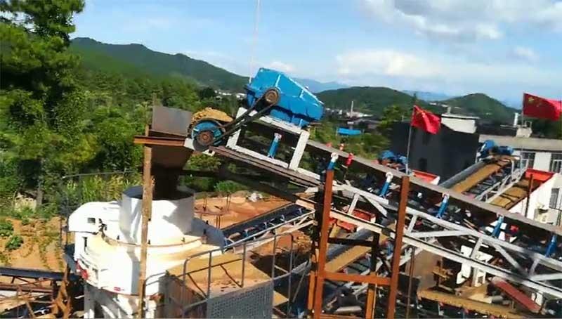 环保型制砂机生产视频