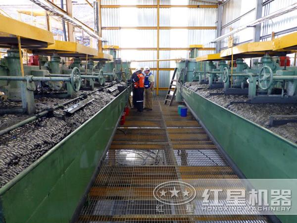 钼铜矿加工流程